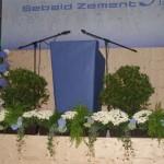 "Blumenschmuck ""150 Jahre Sebald Zement"""