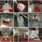 Hochzeit – Dekoration in der Kirche